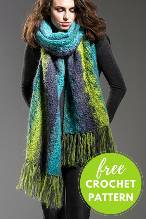 Behemoth Scarf Free Crochet Pattern