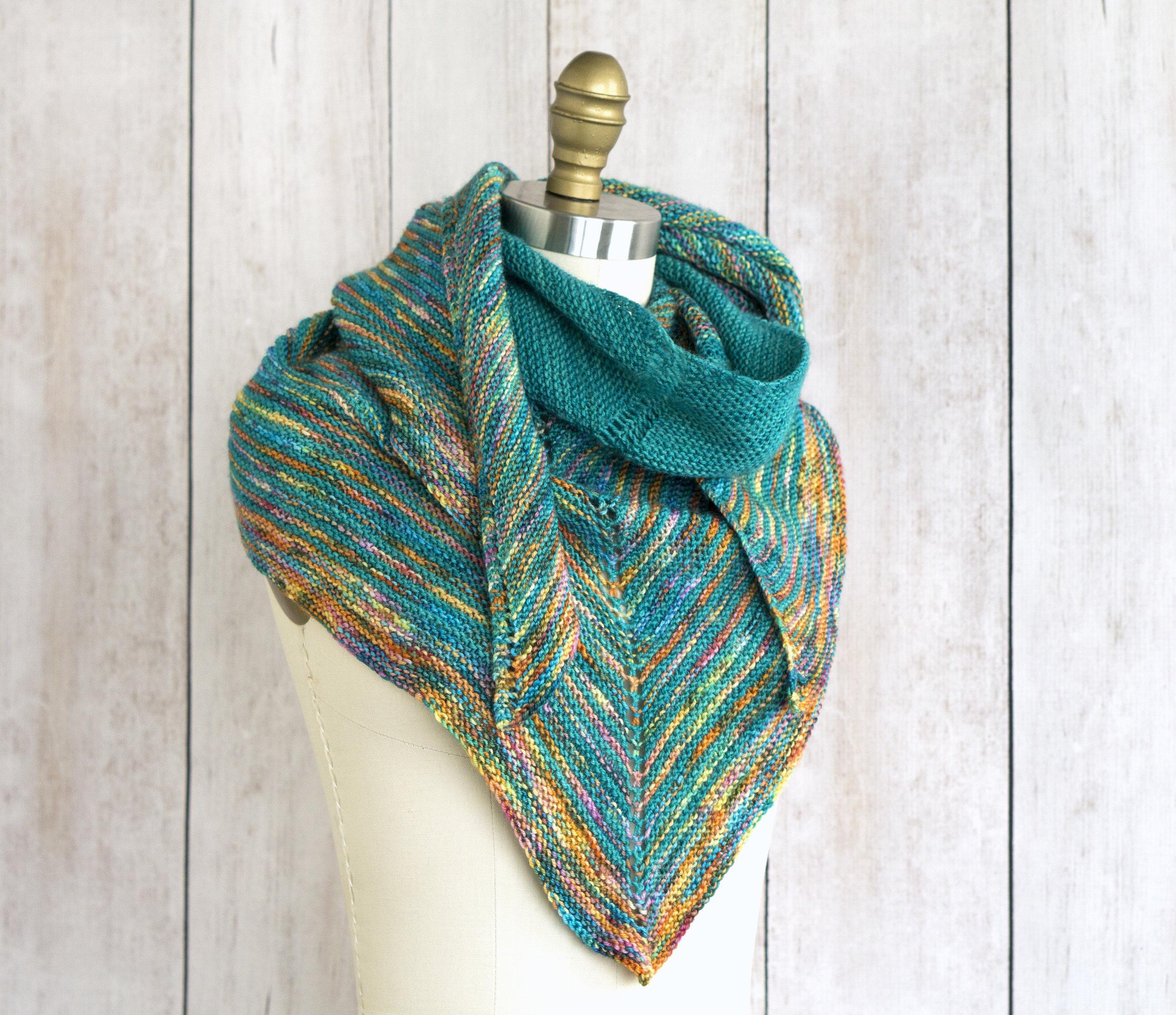 Allspice Shawl Free Knitting Pattern