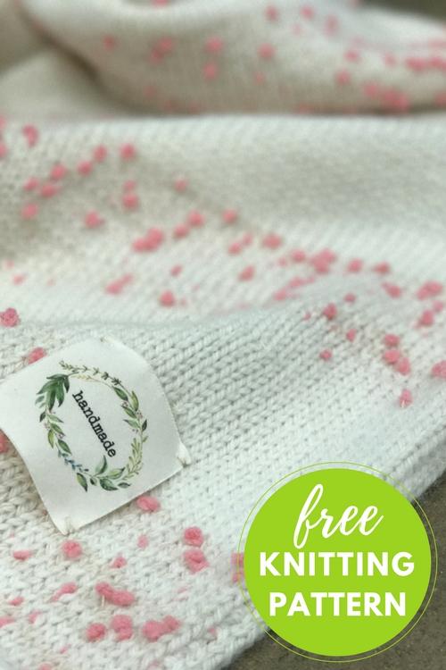 Oshare Baby Blanket Free Knitting Pattern