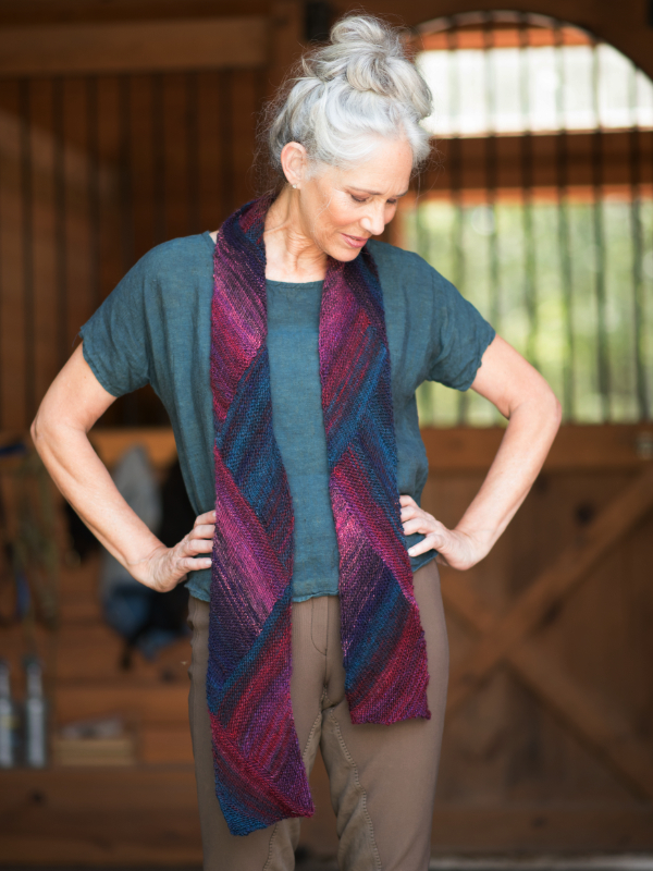 One Skein Scarf Free Knitting Pattern