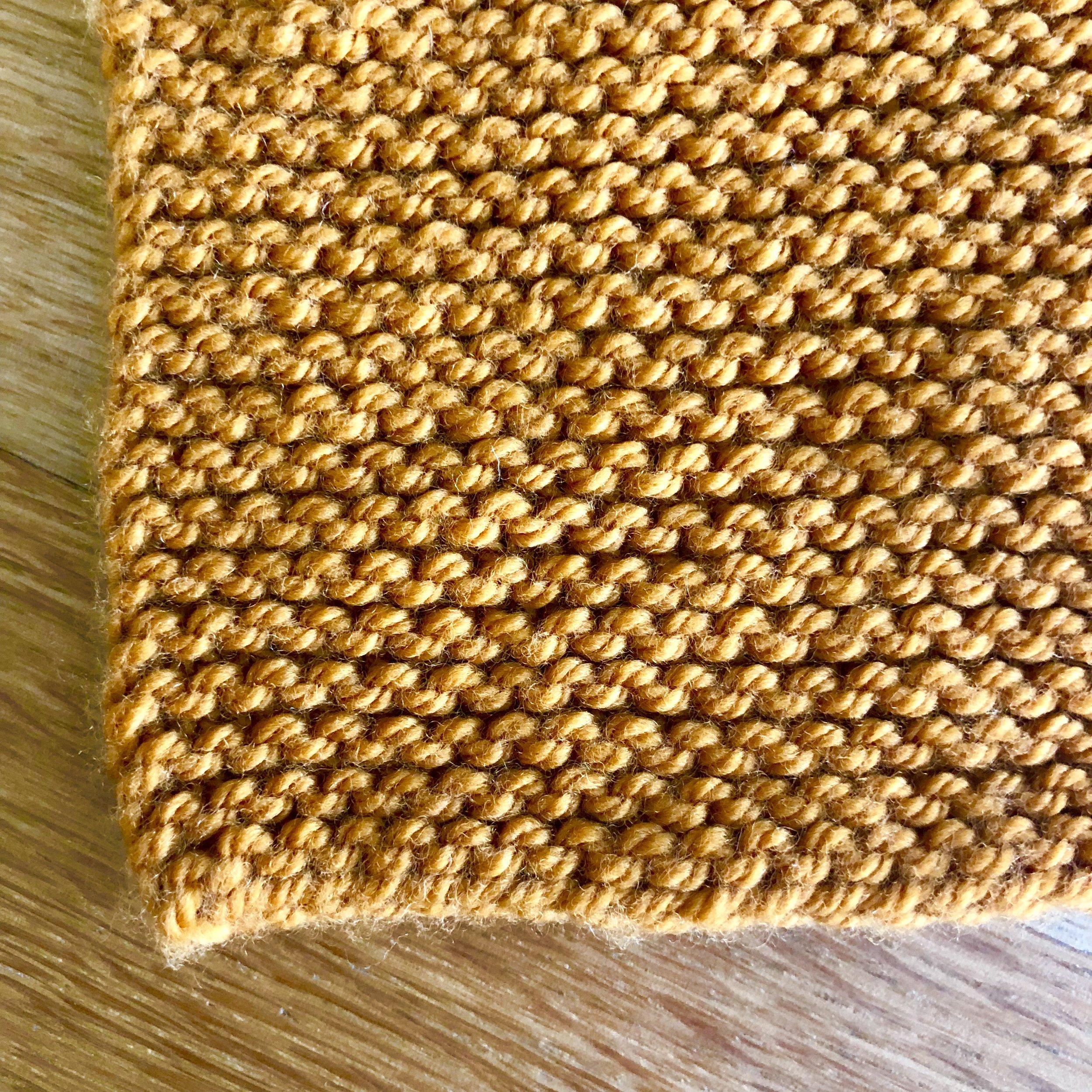 Garter Stitch Fabric