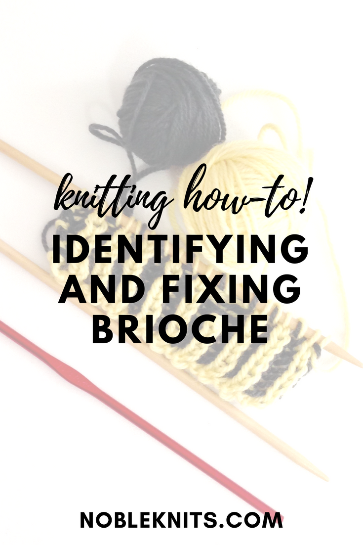 Identifying and Fixing Brioche Mistakes in Knitting