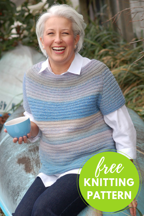 Popover Ribbed Pullover Free Knitting Pattern