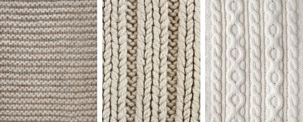 What are the knit stitches