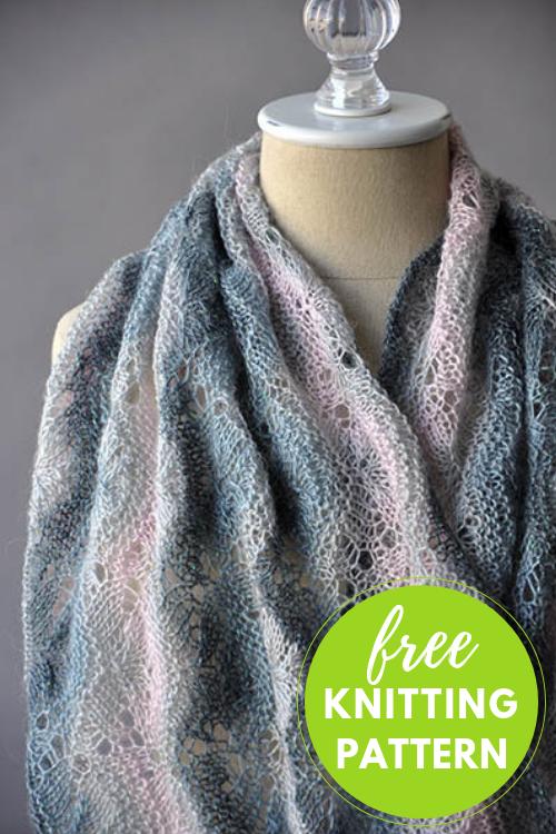 Spellbinder Cowl Free Knitting Pattern