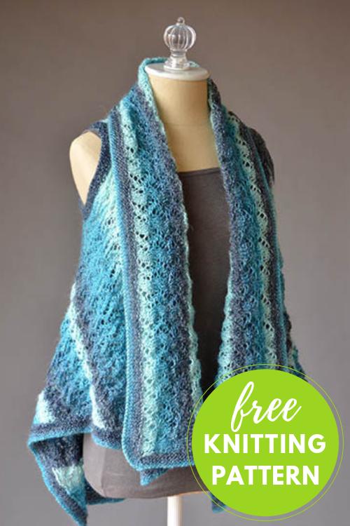 Runnymede Vest Free Knitting Pattern