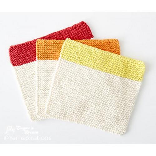 Dippity Doo Dah Dishcloth Free Knitting Pattern