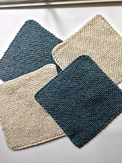 Super Easy Knitting Patterns: Dishcloths!