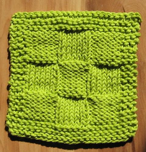 Easy Dishcloth Knitting Patterns!