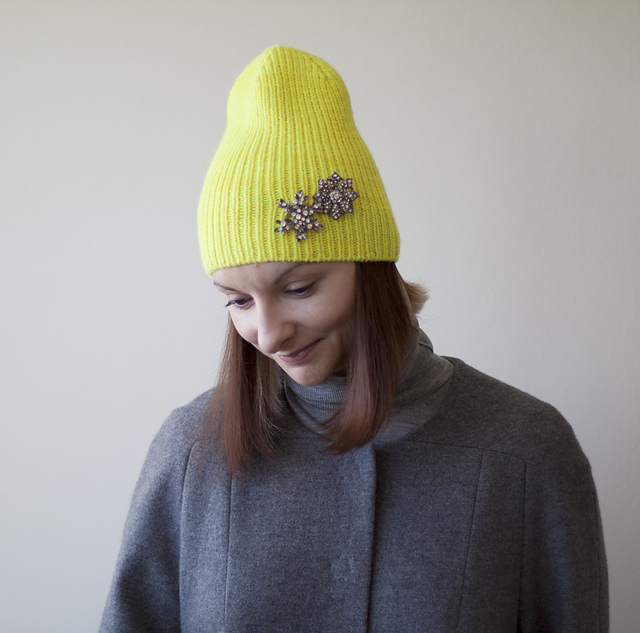 Roku Ribbed Hat Knitting Pattern