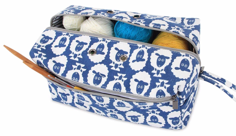 Sheep Pattern Knitting Bag