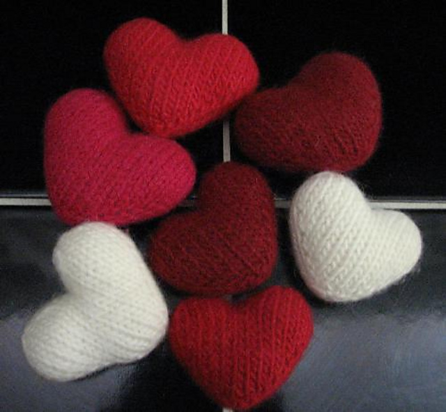 Little Hearts Free Knitting Patterns