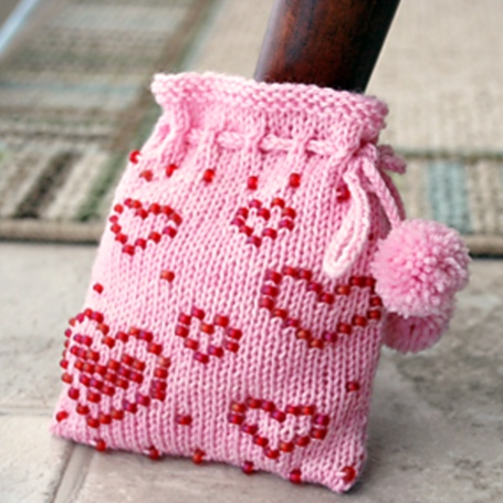 Quick Knits! Tiny Heart Free Knitting Patterns
