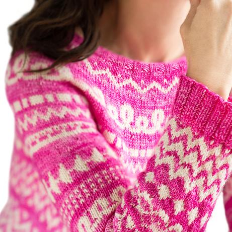 Colorwork Sweater Knitting Patterns