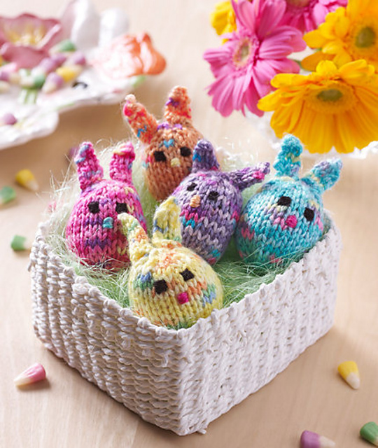 Cute Bunny Slippers Ideas Free Knitting Patterns | 640x540