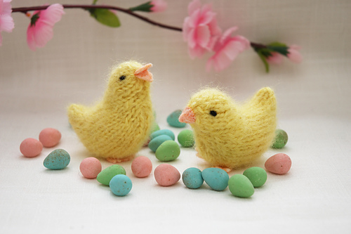 10 Cute and Fun to Knit Free Patterns for Easter