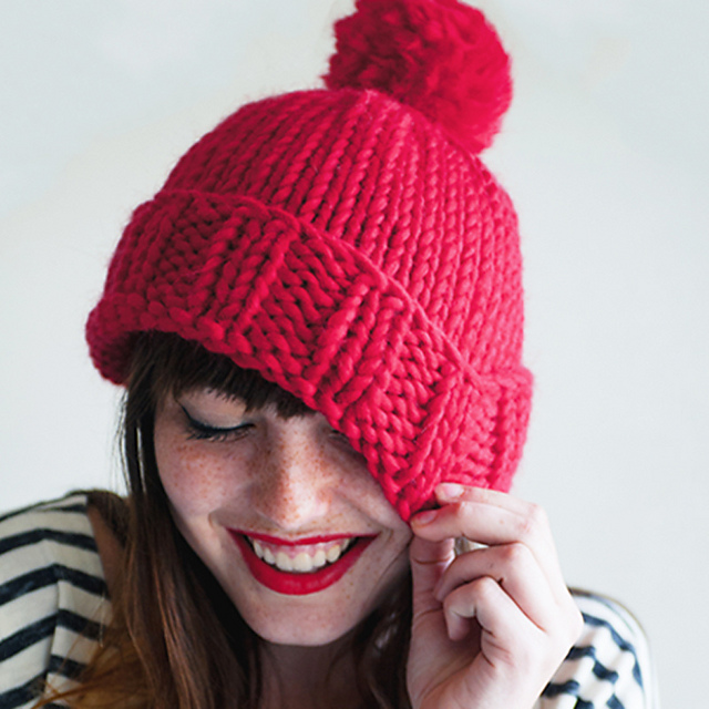 10 Quick Knit Free Projects using Chunky Yarns