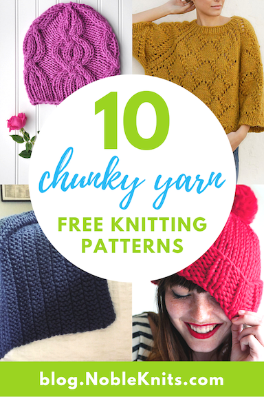 10 Chunky Yarn Knitting Patterns