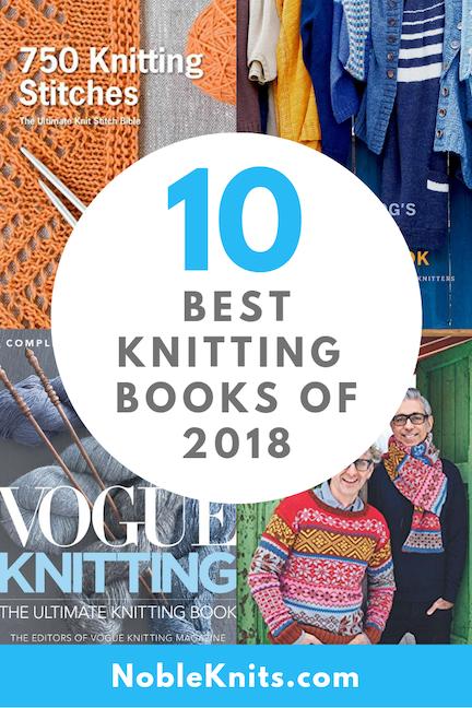 10 Best Knitting Books of 2018