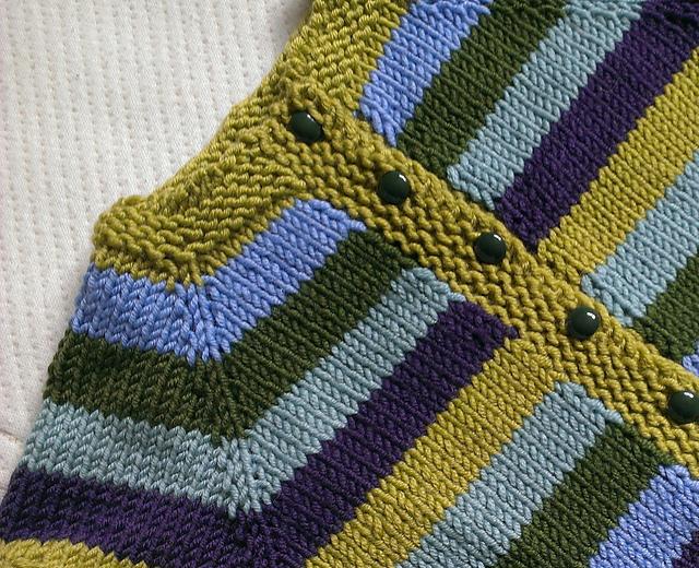 Fuss Free Baby Cardigan Free Knitting Pattern