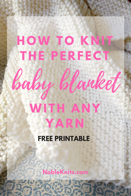 Ultimate Guide To Baby Blankets Blog Nobleknits