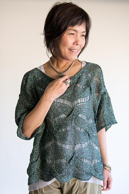 Dandoh Forest Weave Pullover Knitting Pattern