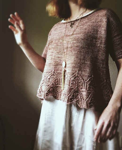 Summer Knitting: Tenga Tee Pattern by Caitlin Hunter