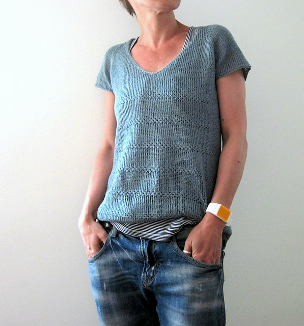 10 Tees to Knit and Wear Now: Edie Tee