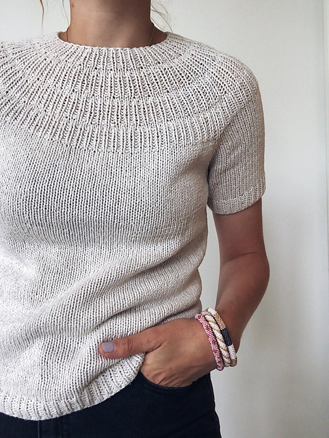 10 Tee Knitting Patterns to Knit and Wear this Summer
