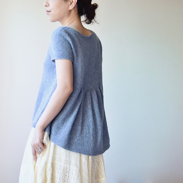 Alice Tee Knitting Pattern + More Summer Knitting Projects