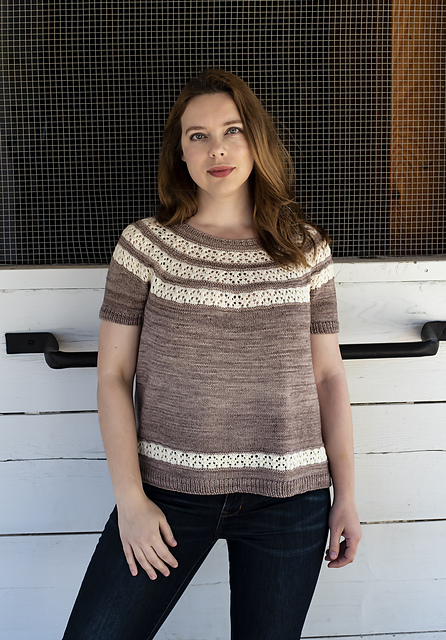Rialto Ripples + More Summer Tee Knitting Patterns to Knit Now!