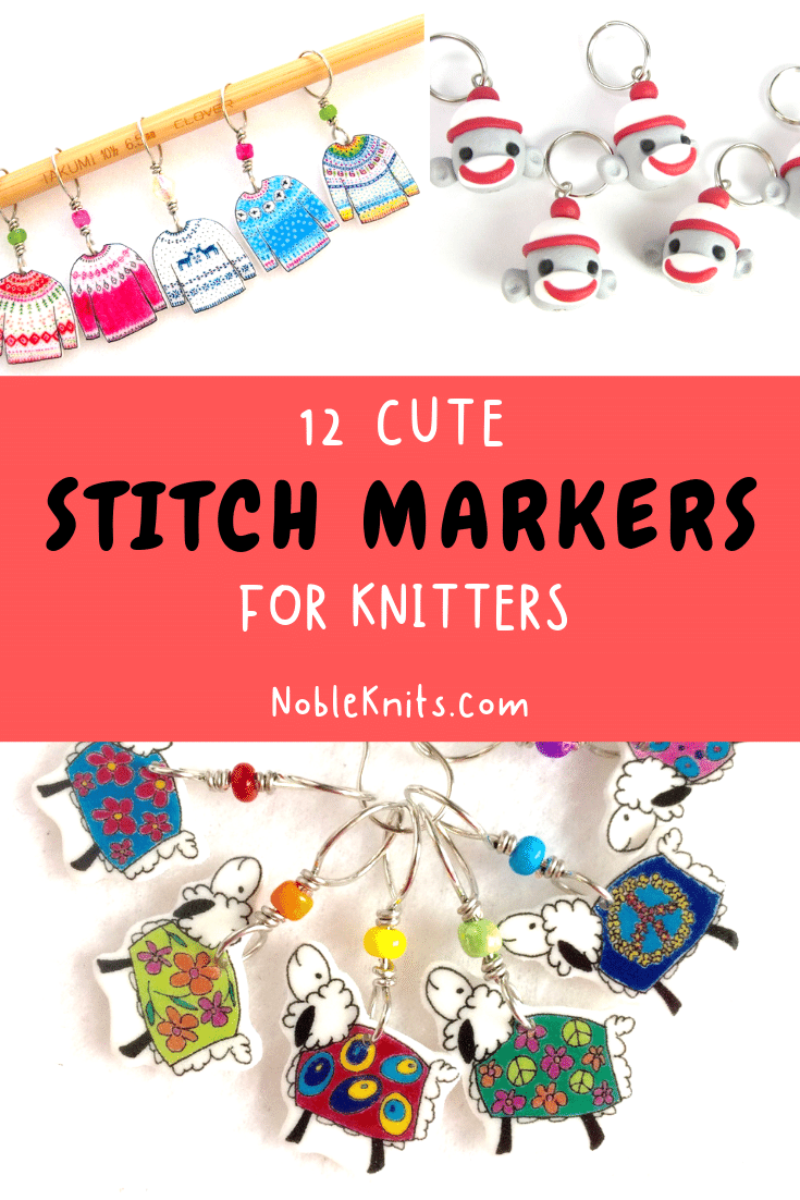 12 Cute Stitch Markers You Didn't Know you Needed!