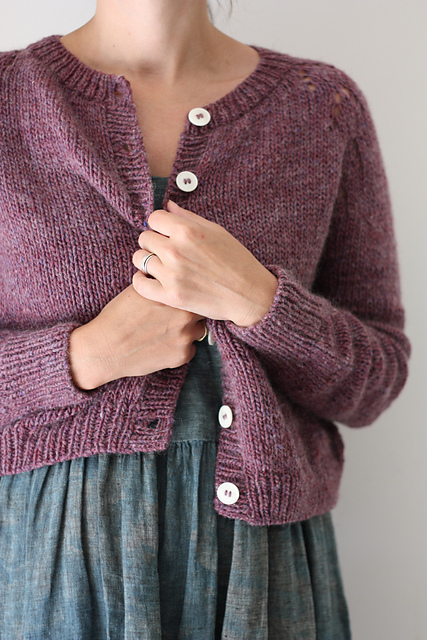 Felix Cardigan Knitting Pattern + 10 Sweaters to Knit for Fall