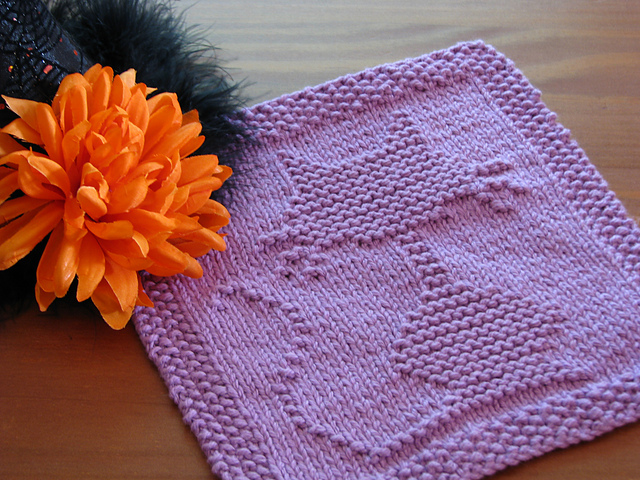 13 Spooktacular Halloween Free Dishcloth Knitting Patterns ...
