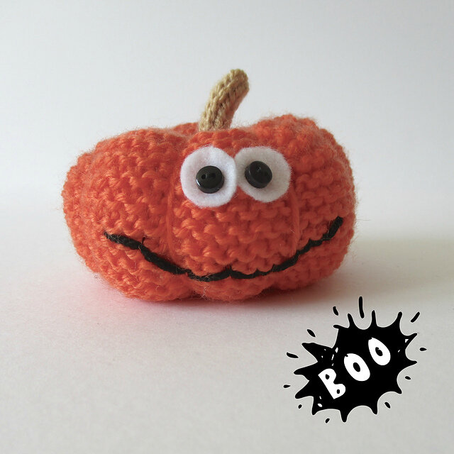 Halloween Knitting: Pumpkin Free Knitting Pattern