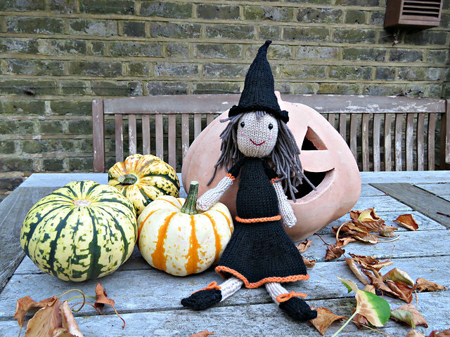 The Bewitching Ms. Witch Free Knitting Pattern