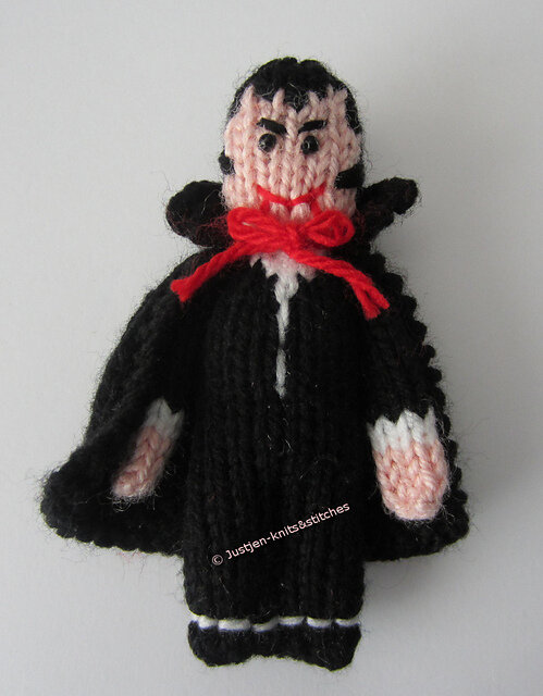 The Little Vampire Free Knitting Pattern