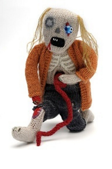 Halloween Knitting: Classic Zombie Free Knitting Pattern