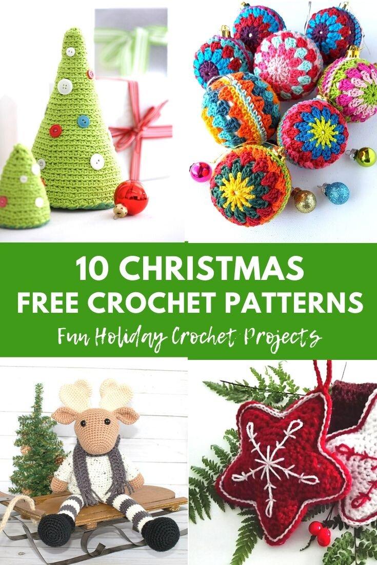 Ravelry: Christmas ornaments pattern by Mariya Kozlova ~ FREE ... | 1102x735