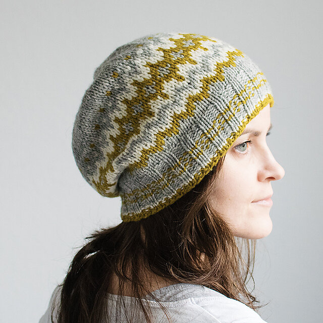 Ribbed Design Hat Button Winter Cascade Aran KNITTING PATTERN Ladies Cable