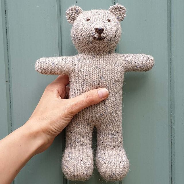 8 Cutest Teddy Bears Free Knitting Patterns — Blog.NobleKnits