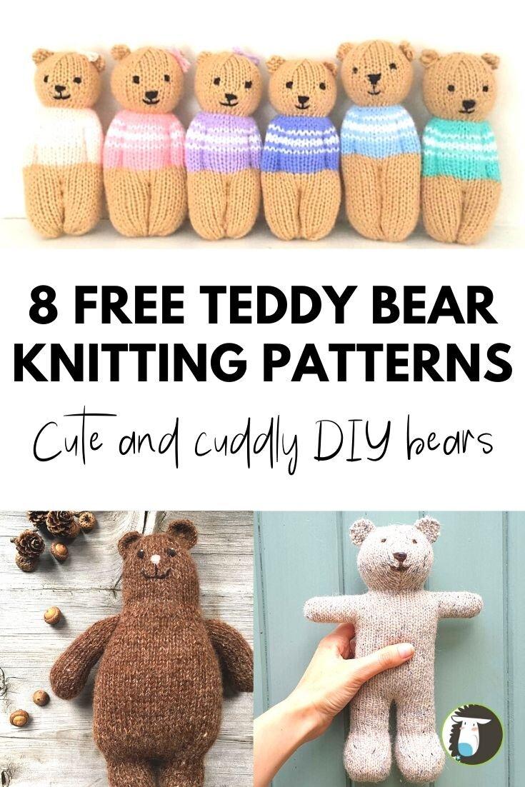 Irresistibly Darling Crochet Bears | AllFreeCrochet.com | 1102x735