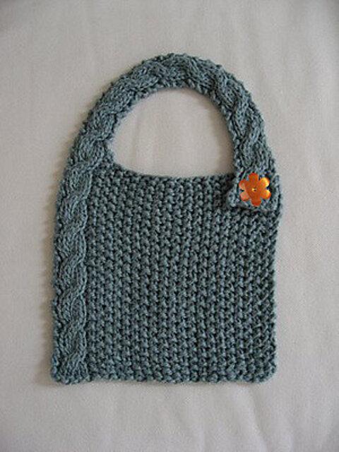 10 Easy & Adorable Baby Bib Free Knitting Patterns — Blog ...