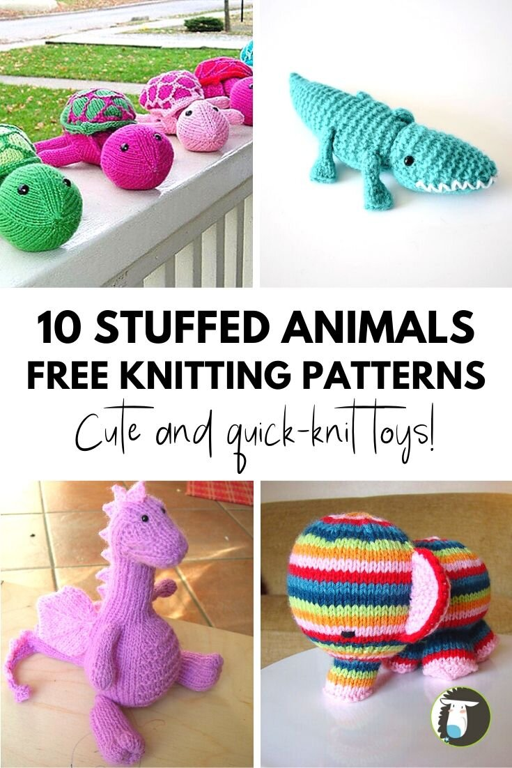 Over 300 Free Crochet Toy Patterns at AllCrafts.net | 1102x735