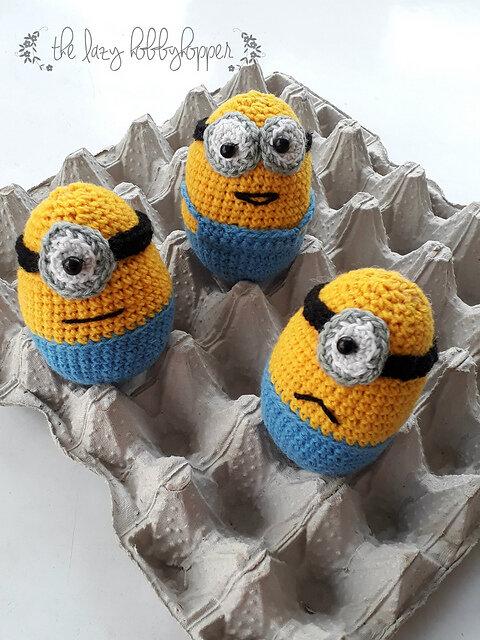 Dave the Minion Crochet Pattern - Pops de Milk | 640x480