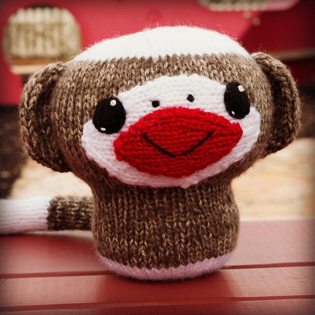 Mini Sock Monkey Crochet Pattern Sock Monkey Amigurumi | Etsy | 640x640