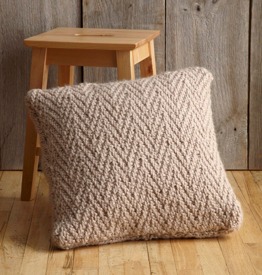 10 Free Pillow And Cushion Knitting Patterns To Cozy Up Any Space Blog Nobleknits