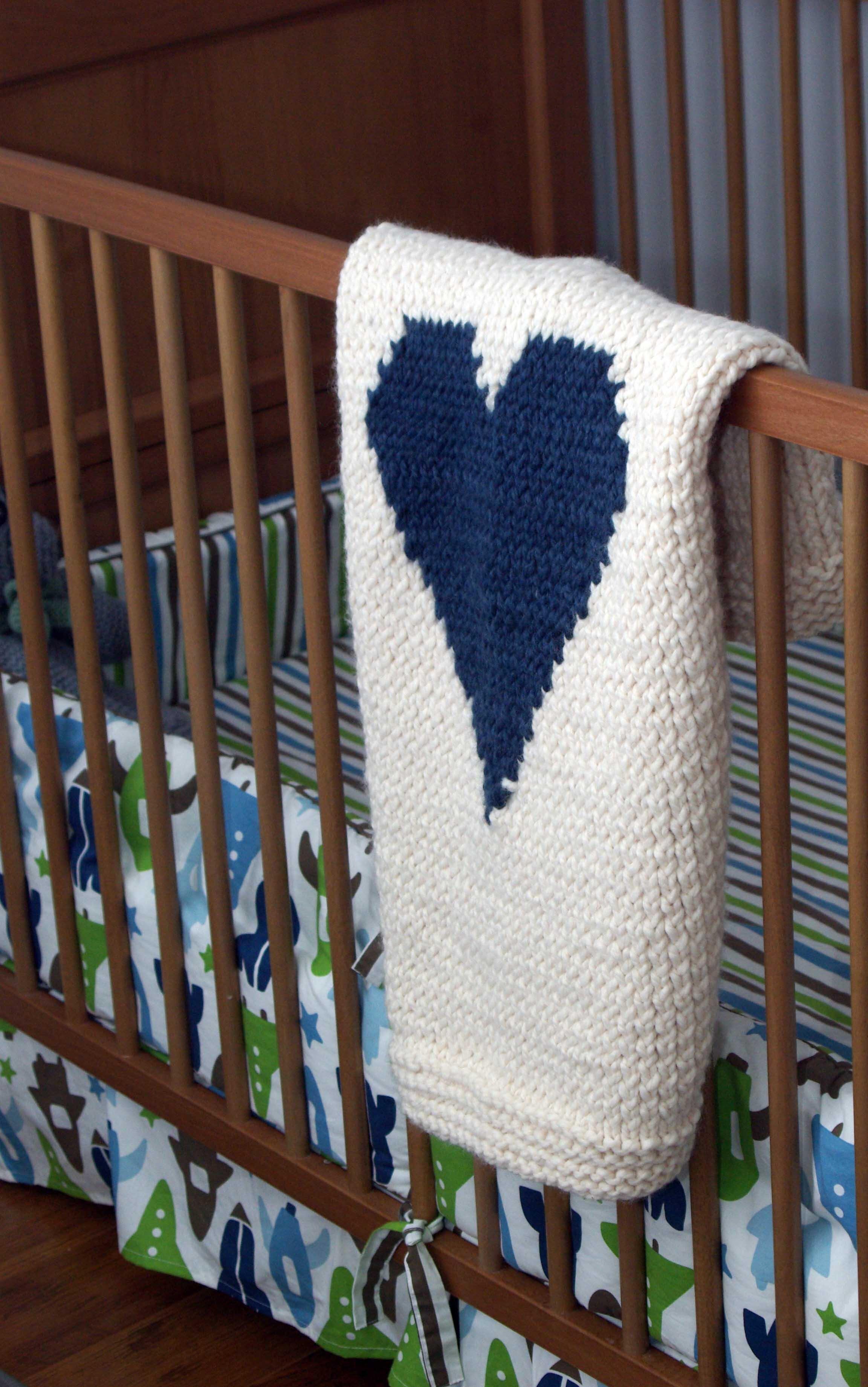 heart+baby+blanket