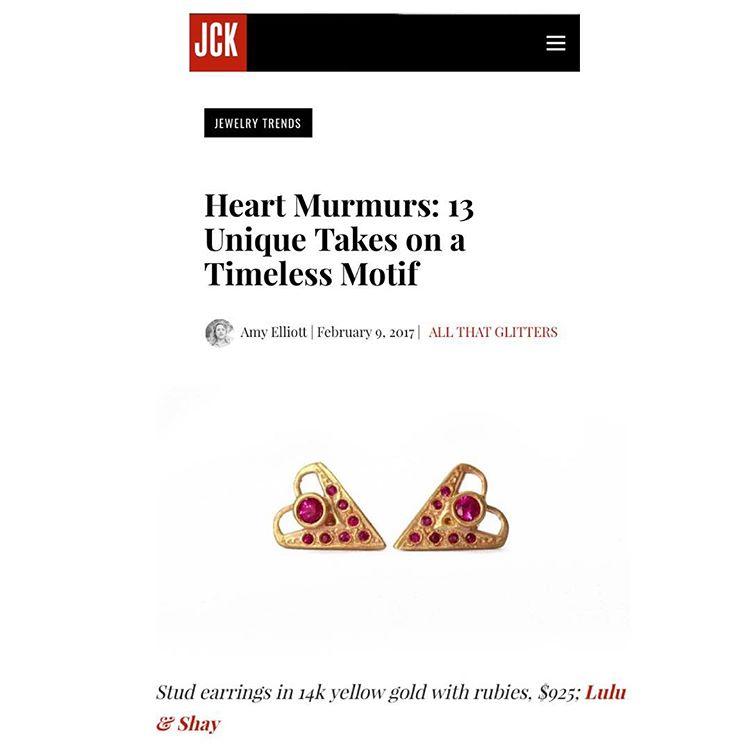 JCK Magazine Heart Murmurs