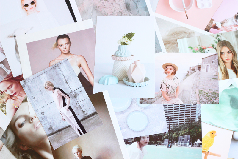 Build the perfect mood board | Step 9: Fill in and tweak